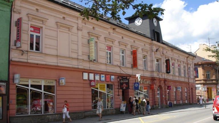 Budova Frýdečanka, tř. T. G. Masaryka 1108