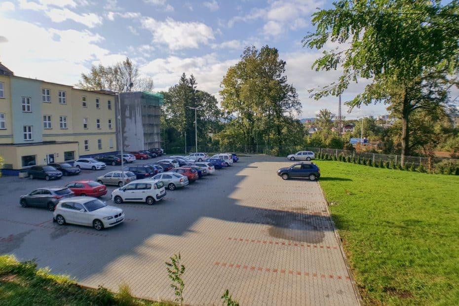 Potoční 1094 parkoviště