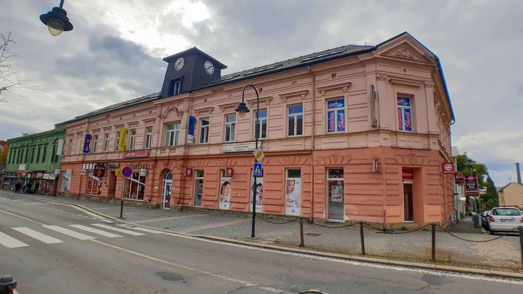 OC Frýdečanka budova