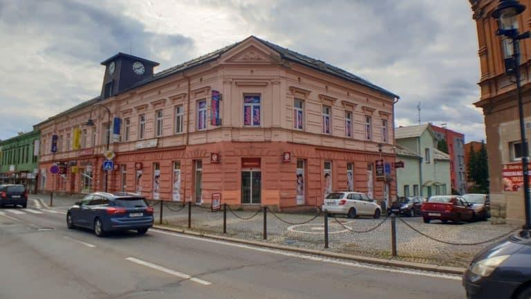 Budova OC Frýdečanky na T.G.M ve Frýdku-Místku