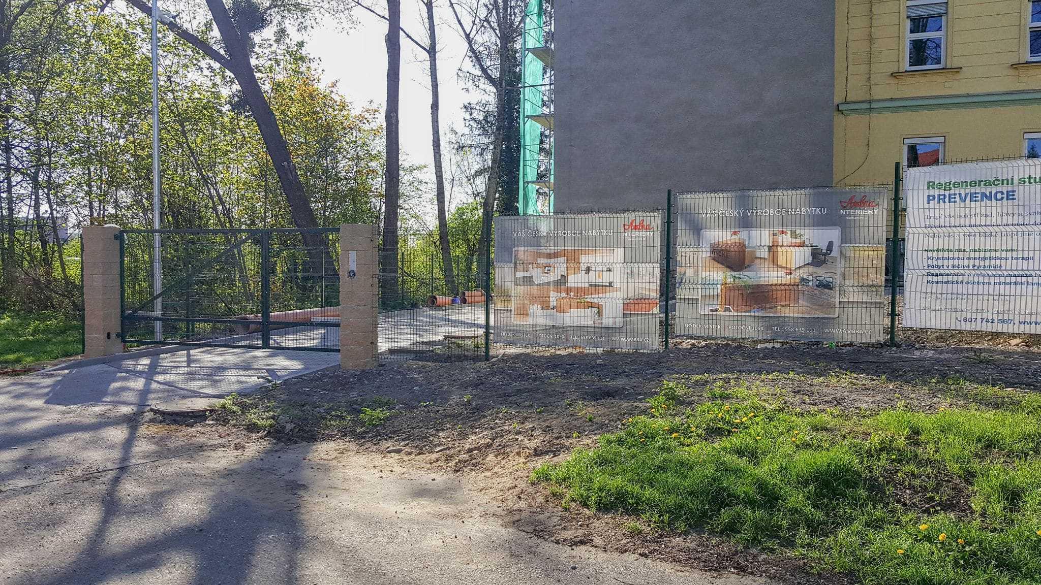 Reklama C ulice Potoční